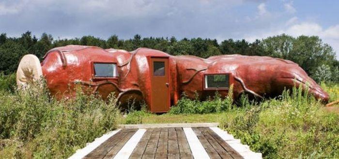 Необычная гостиница в Бельгии