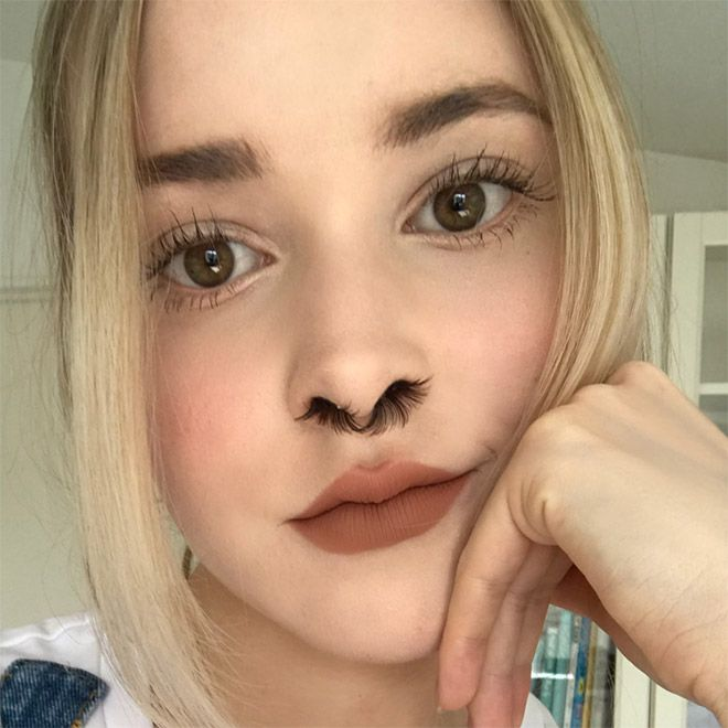 Новый модный тренд - волосы в носу