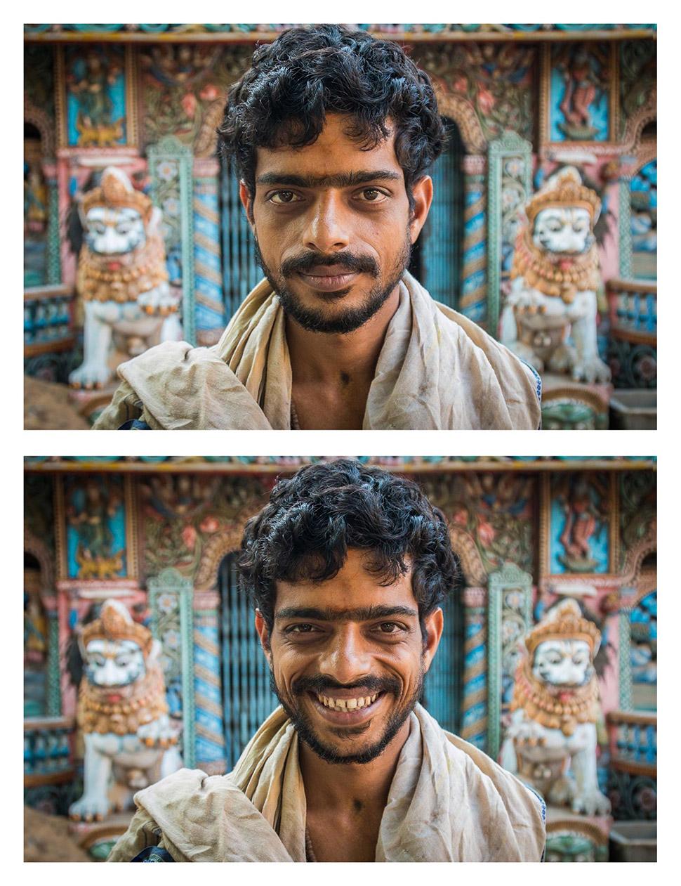 Сила улыбки и фотографии незнакомцев
