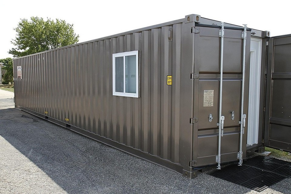 Дом-контейнер можно заказать через интернет