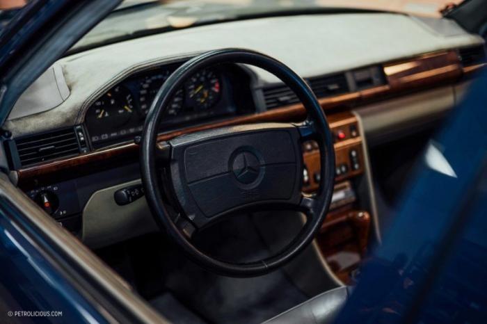 Единственный в мире Mercedes-Benz W124 AMG Hammer Wagon
