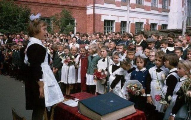 Позитивные фотографии из советского прошлого