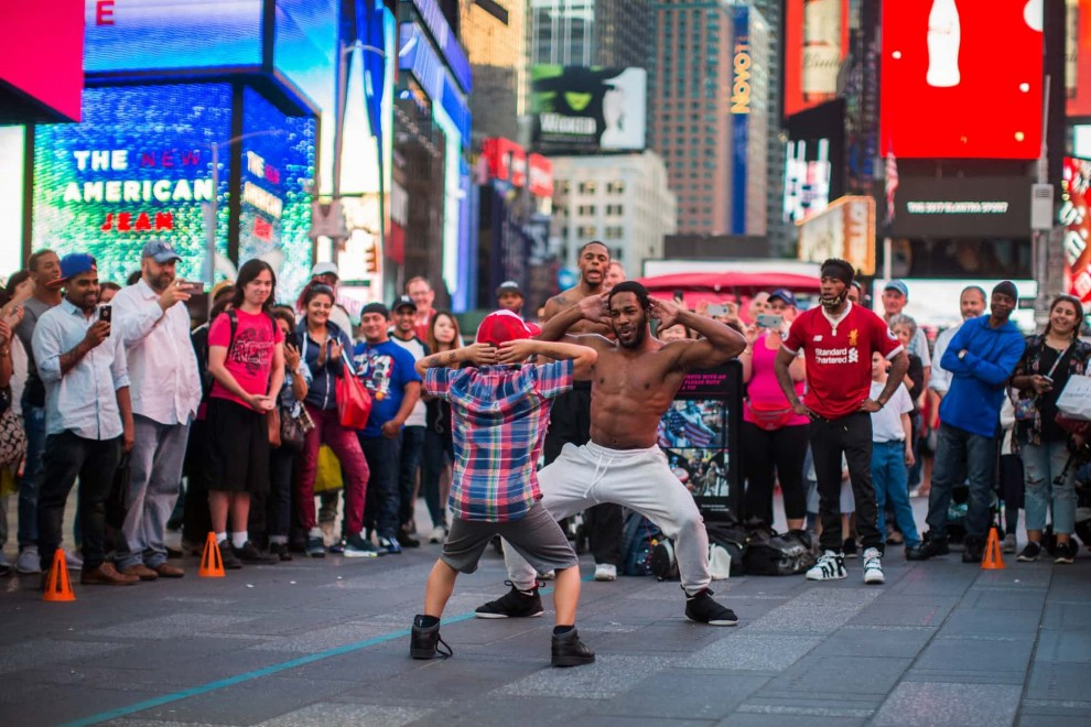 Один день из жизни Таймс-сквер