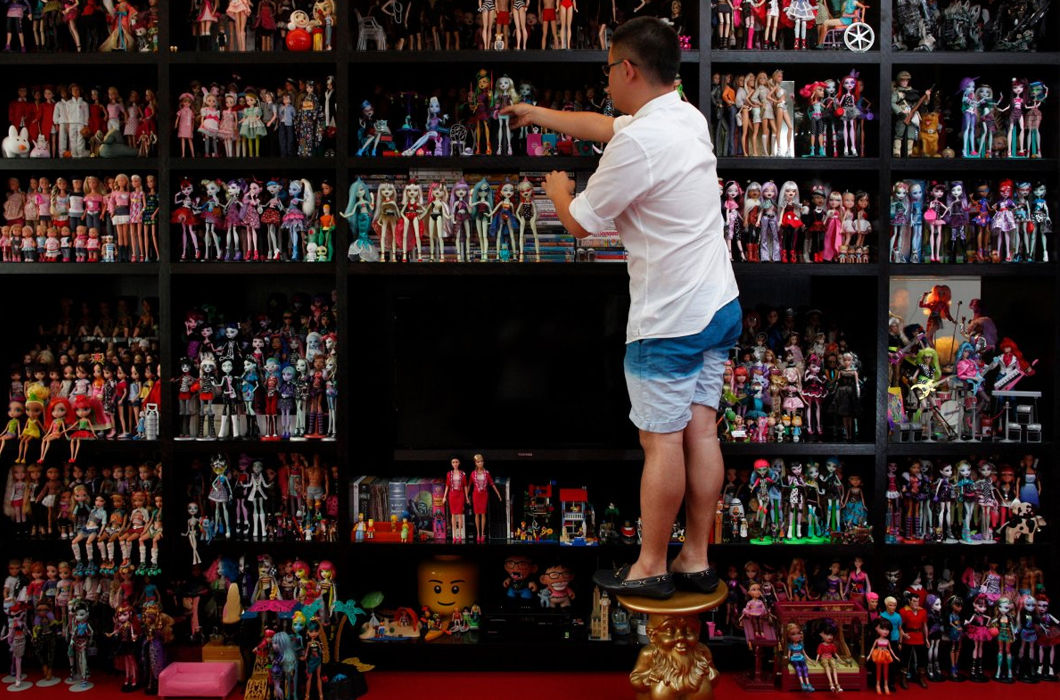 Amazing collections of people from different parts of the world.