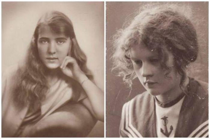 Молодежь в разных странах 100 лет назад