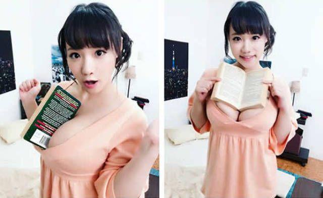 Многофункциональная грудь японской модели