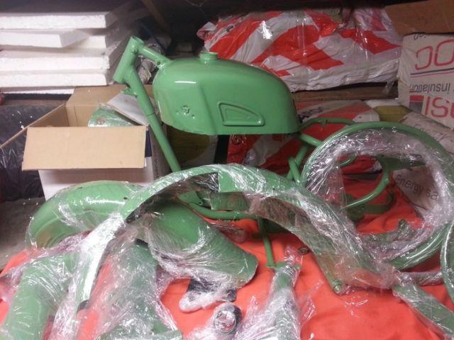 Реставрация мотоцикла Ковровец