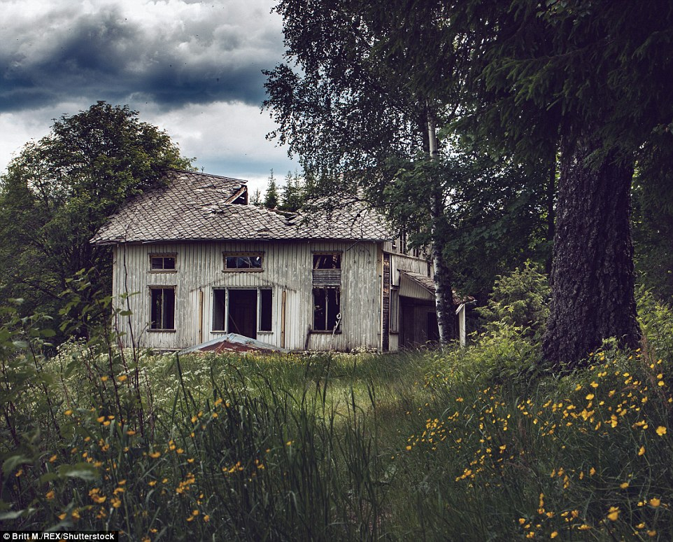 Заброшенные дома Скандинавии