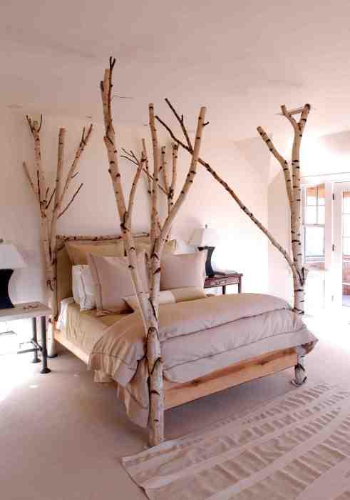 Преображение жилого пространства с помощью дерева