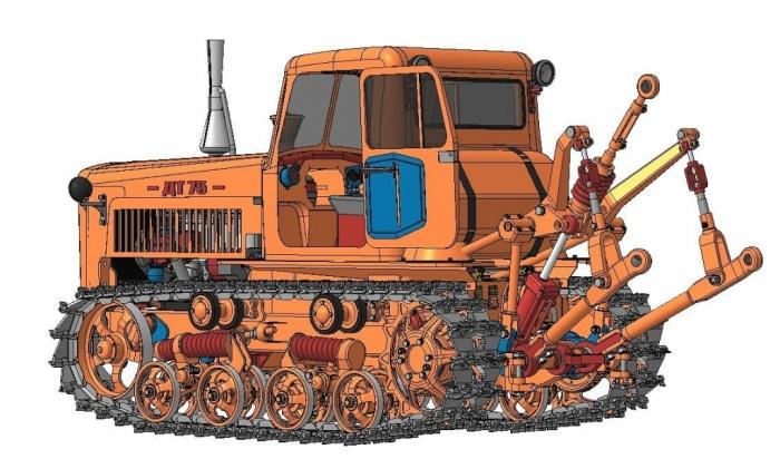Советские тракторы, на которых перевыполнялись планы