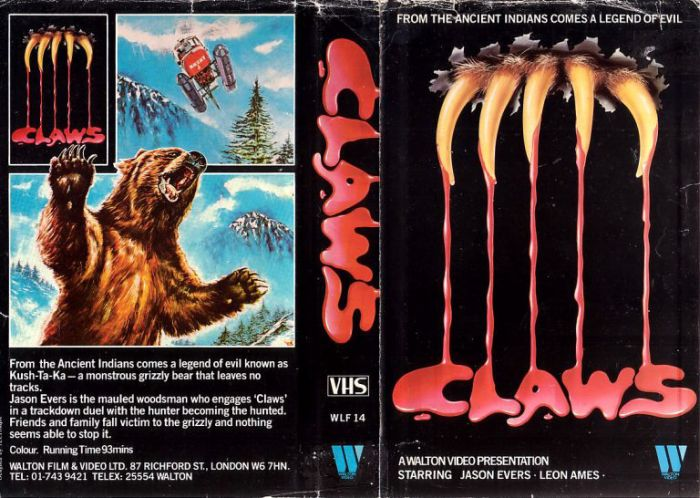 Жуткие обложки видеокассет старых фильмов ужасов