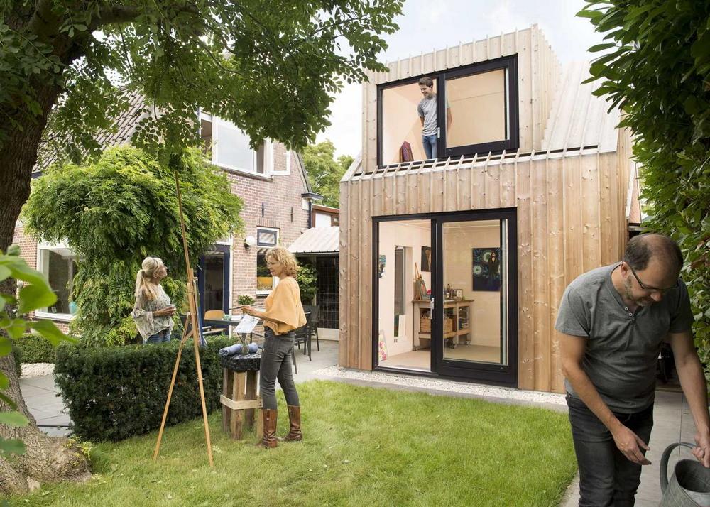Домик-студия в Нидерландах