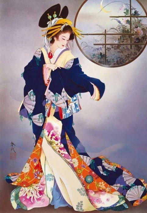 Японская художница Харуё Морита