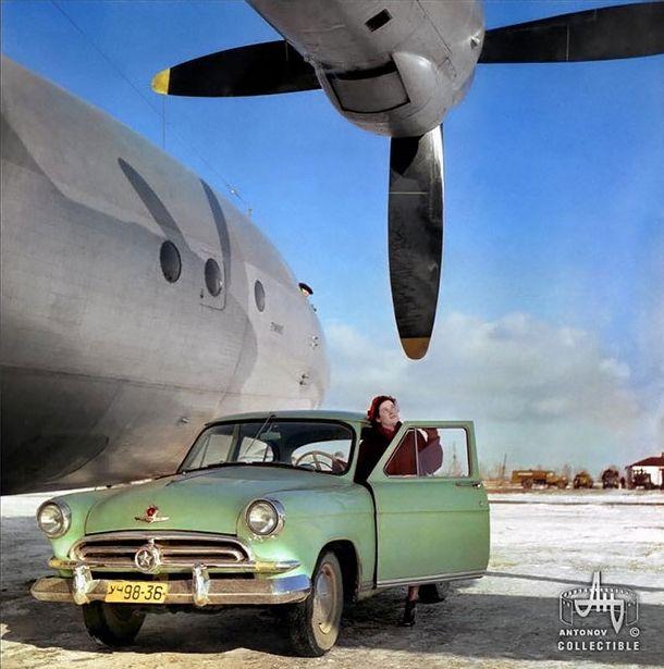 Советская реклама самолетов