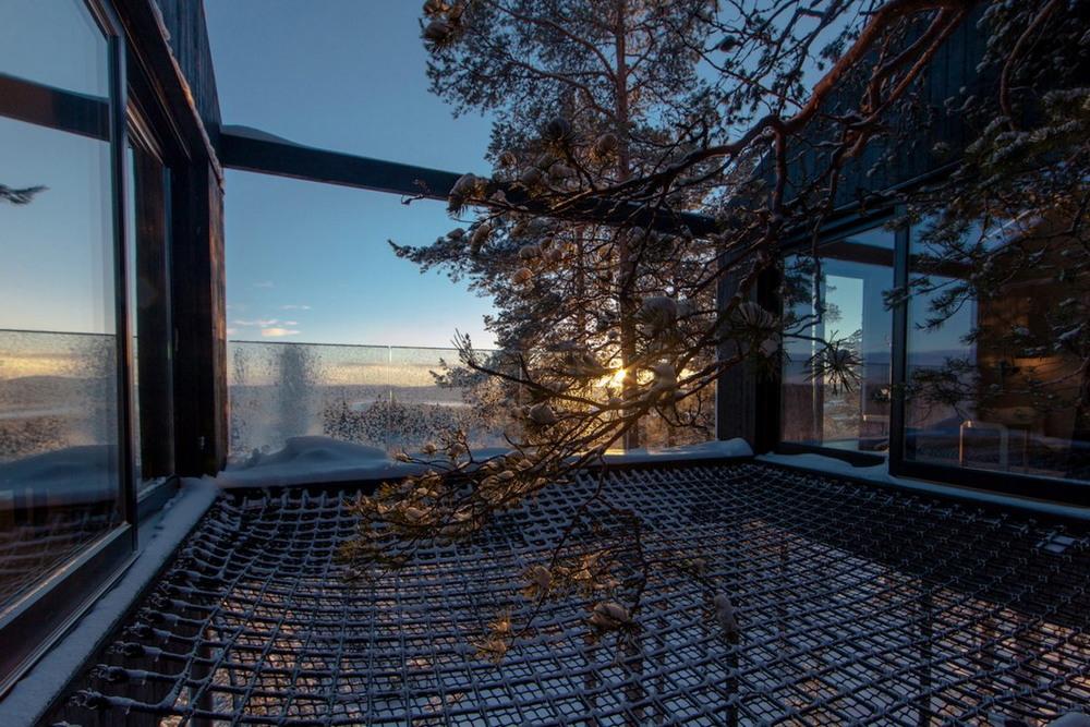 Апартаменты на дереве в Швеции