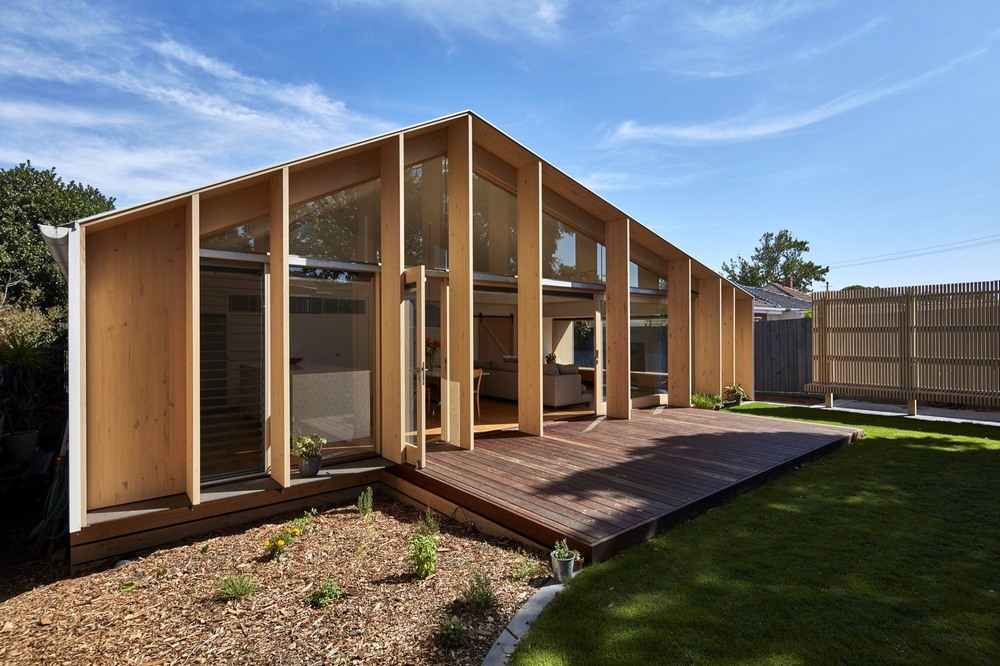 Обновление дома 1960-х годов в Мельбурне