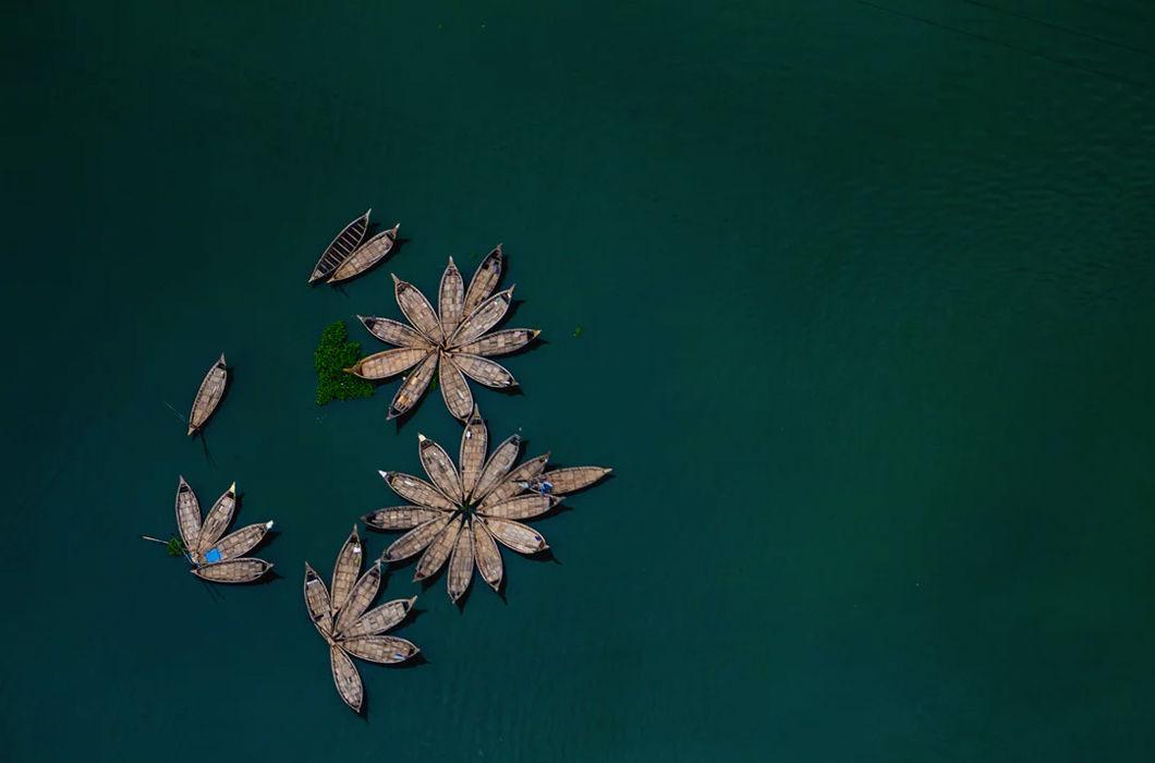 Бангладеш с высоты птичьего полета