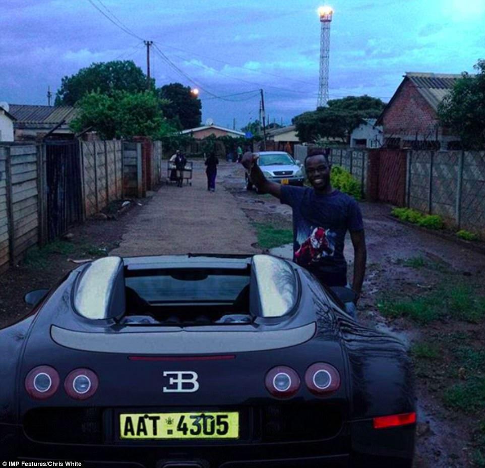 Золотая молодежь в нищей Зимбабве