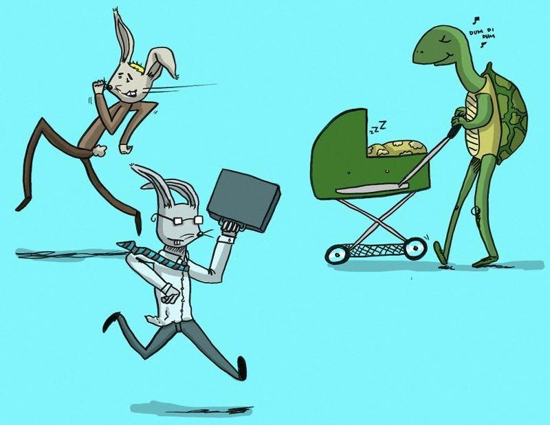 Иллюстрации, раскрывающие все прелести отцовства