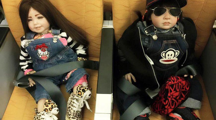 В Таиланде повально покупают кукол-талисманов