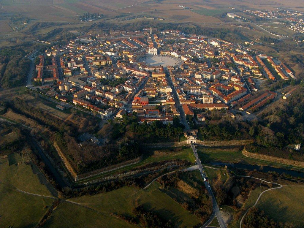 Пальманова — звездный город-крепость в Италии