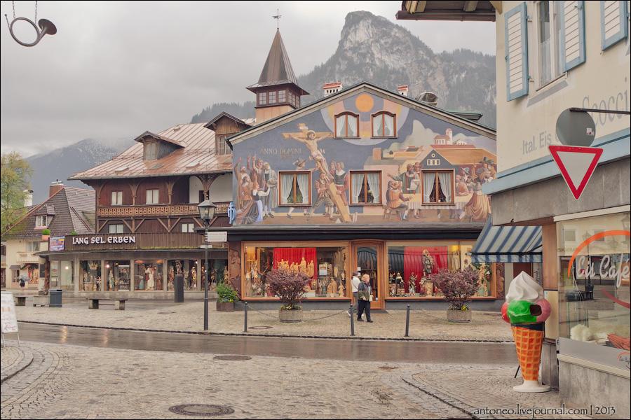 Расписная альпийская деревушка