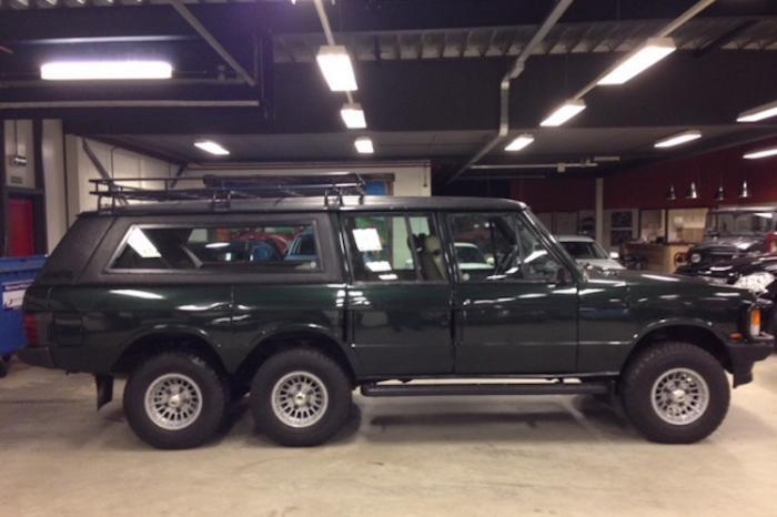 Шестиколесный Range Rover из 80-х