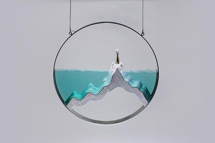 Стеклянные скульптуры, вдохновлённые красотой океана