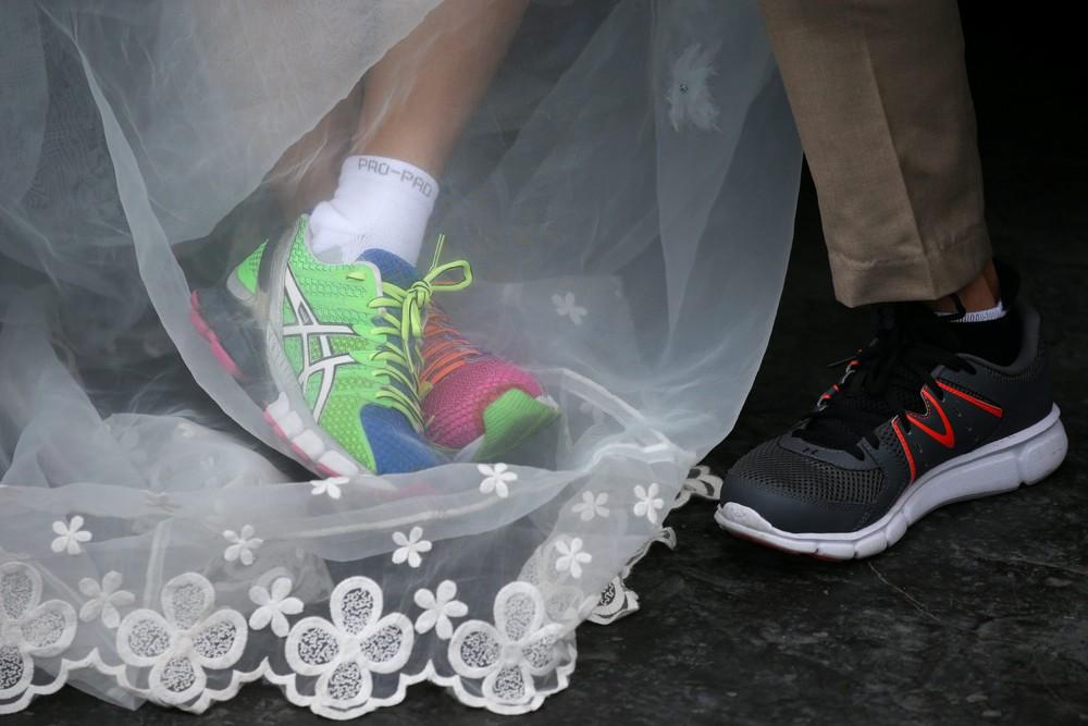 Забег невест в Бангкоке