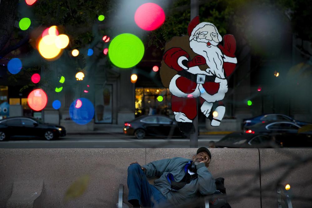 Бездомное население в США