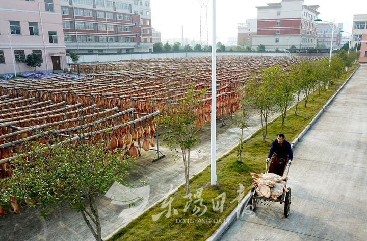 Как загорает китайский хамон