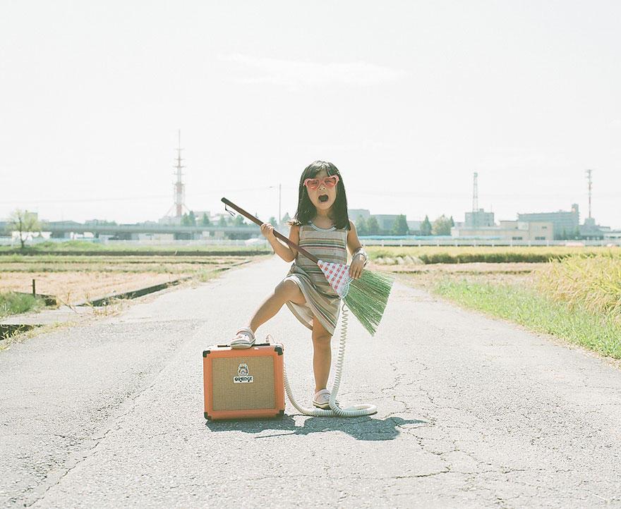 Необычный фотоальбом 4-летней японки