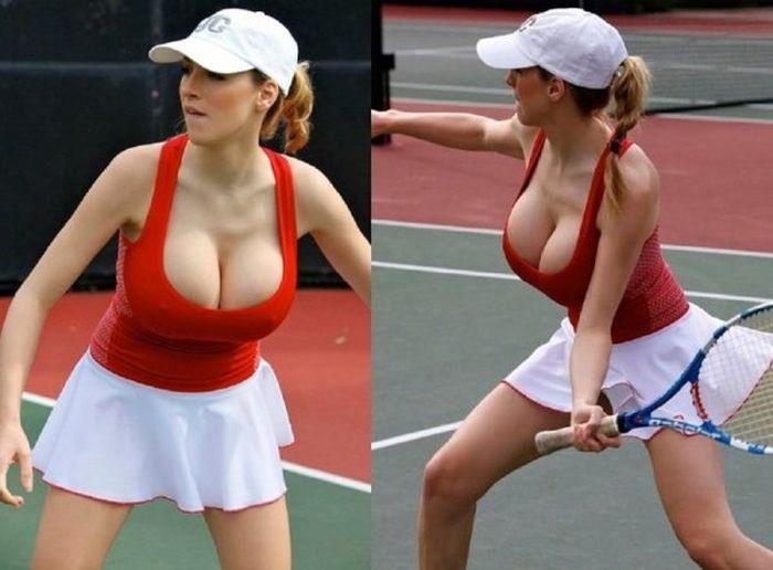 Мужчины любят женский теннис