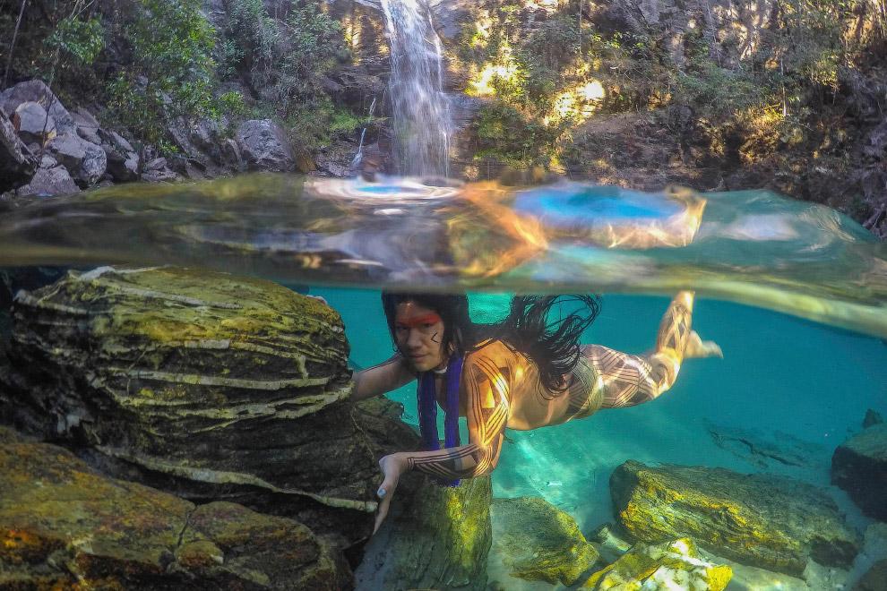 Жизнь бразильских племен в лесах