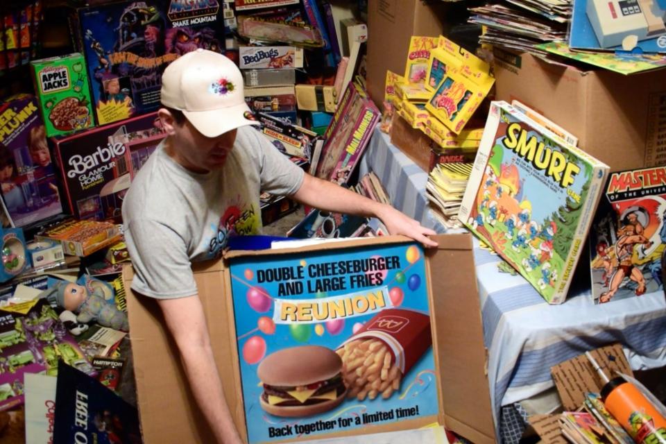 Коллекционер потратил более $100 000 на игрушки 1980-х годов