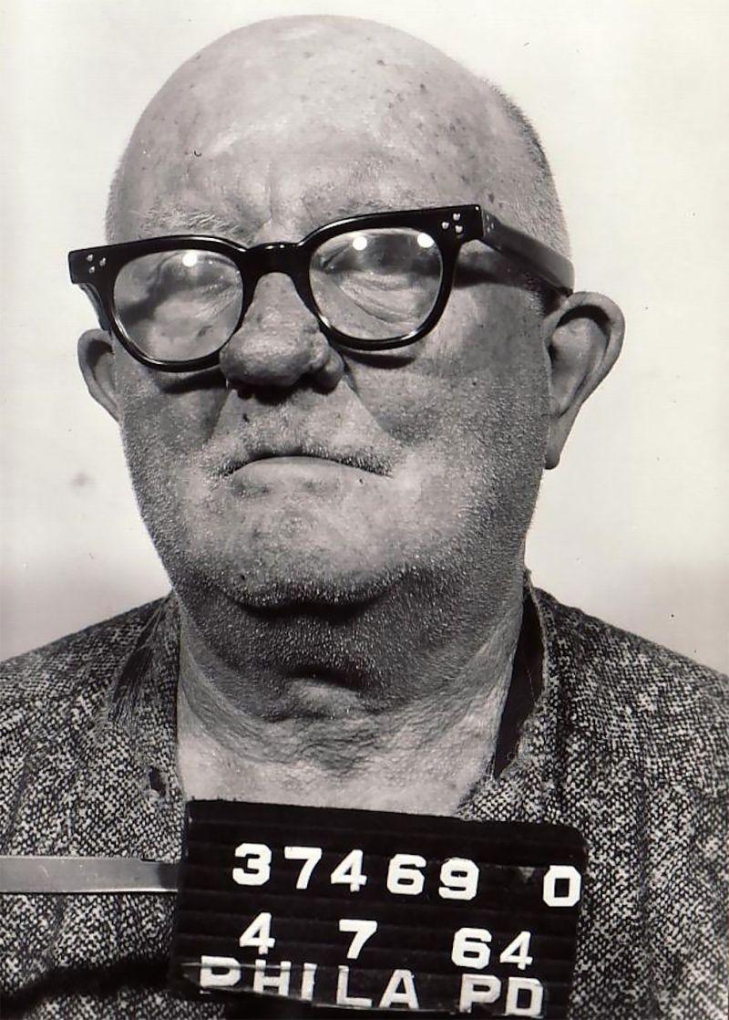 Колоритные снимки преступников Филадельфии 50-60 годов