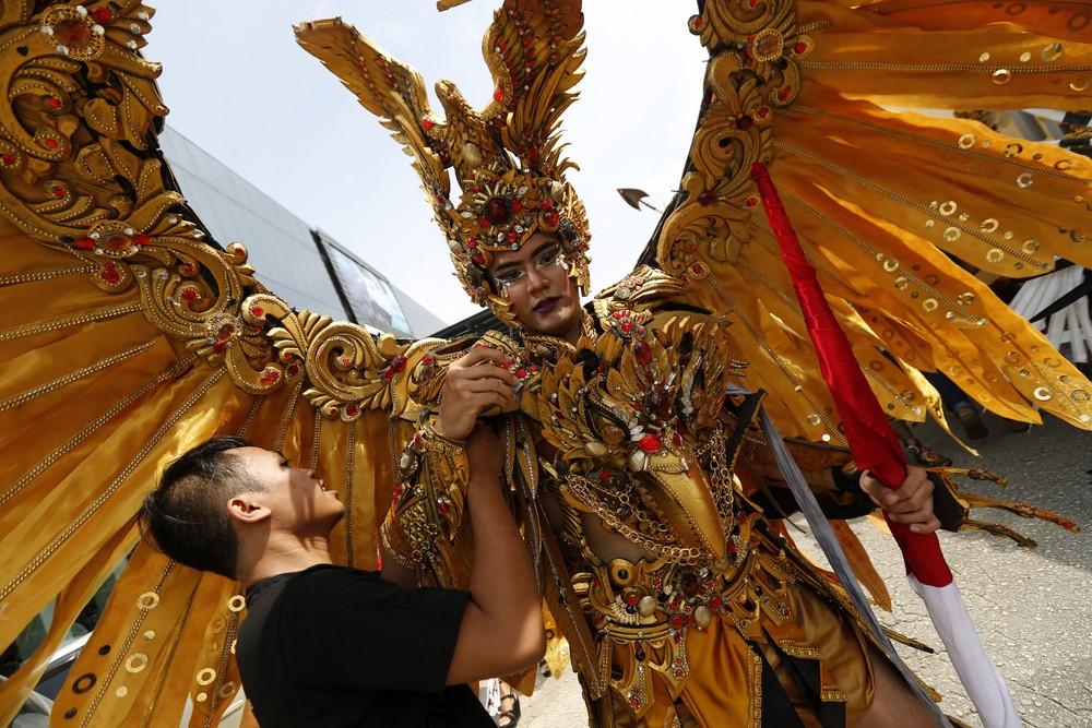 Международный фестиваль культуры на острове Батам в Индонезии