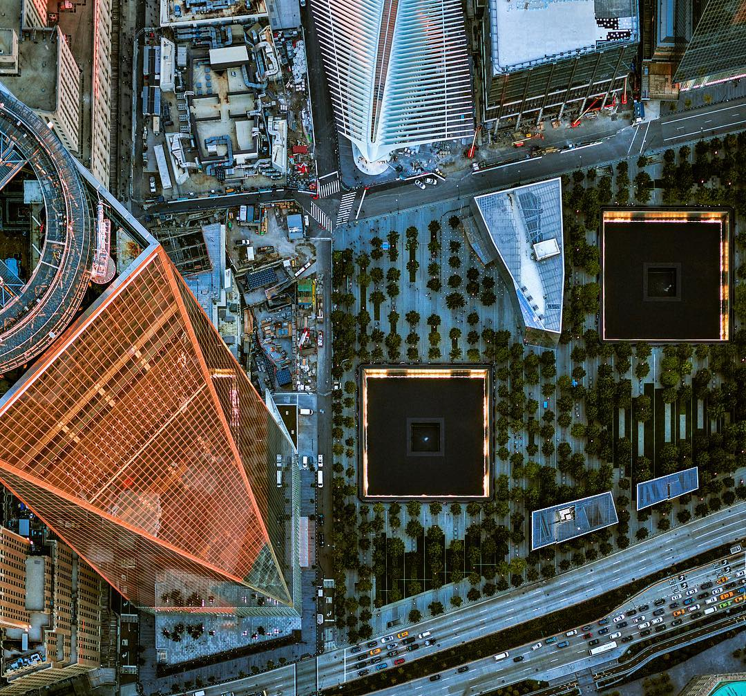 США на аэрофотоснимках от Джеффри Мильштейна