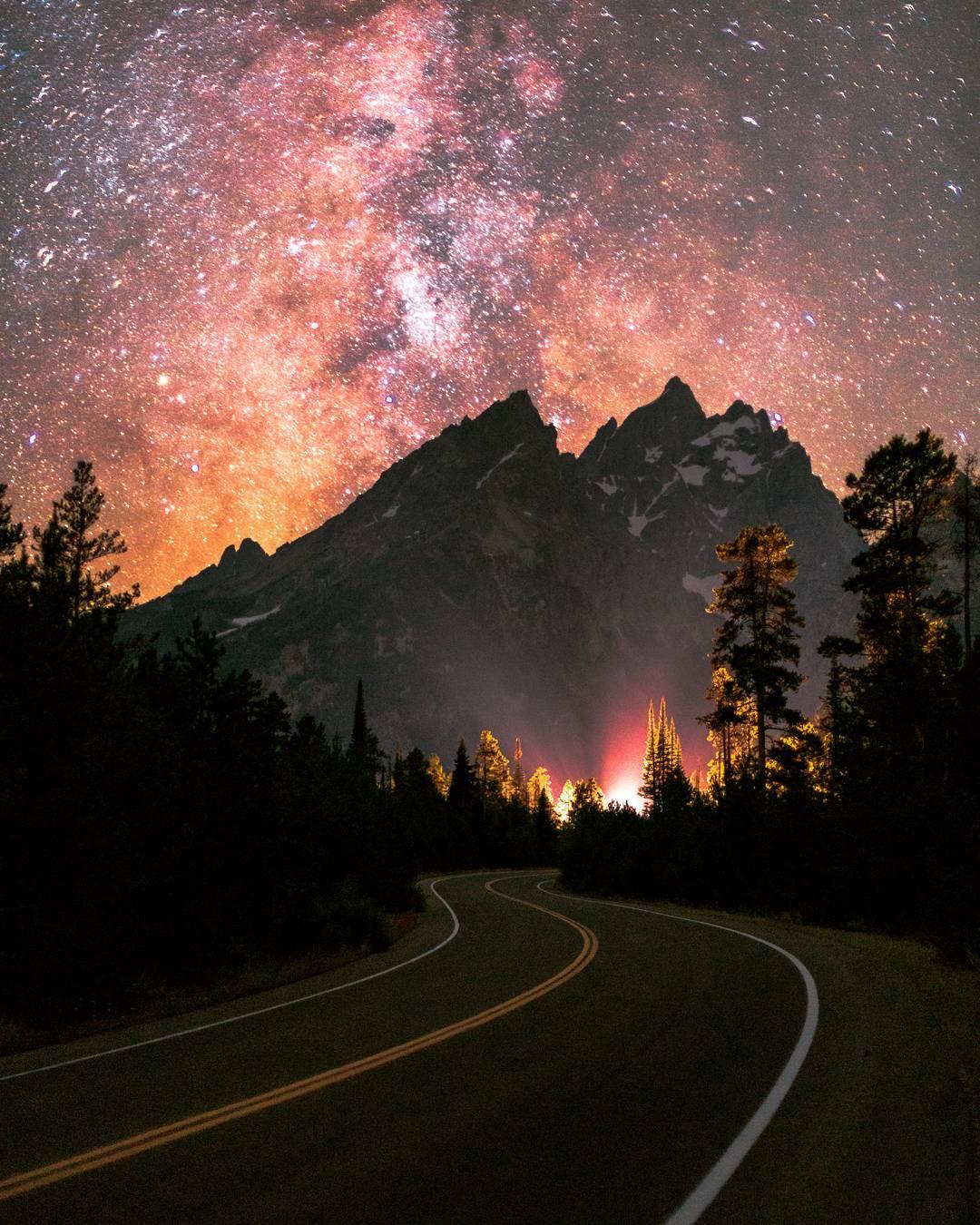 Волшебные пейзажи от Тая Ньюкомба