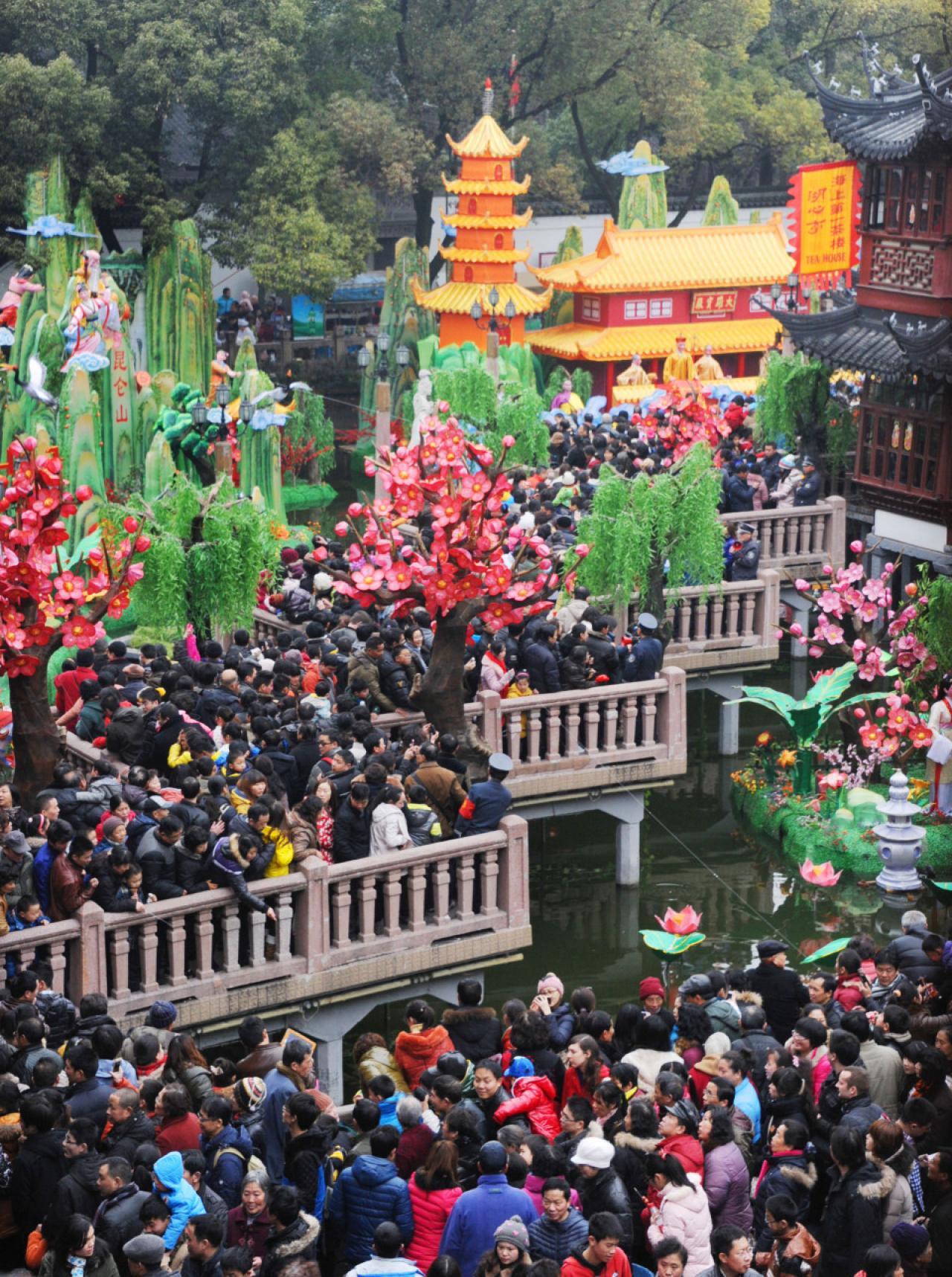 Фотодоказательства перенаселения Китая