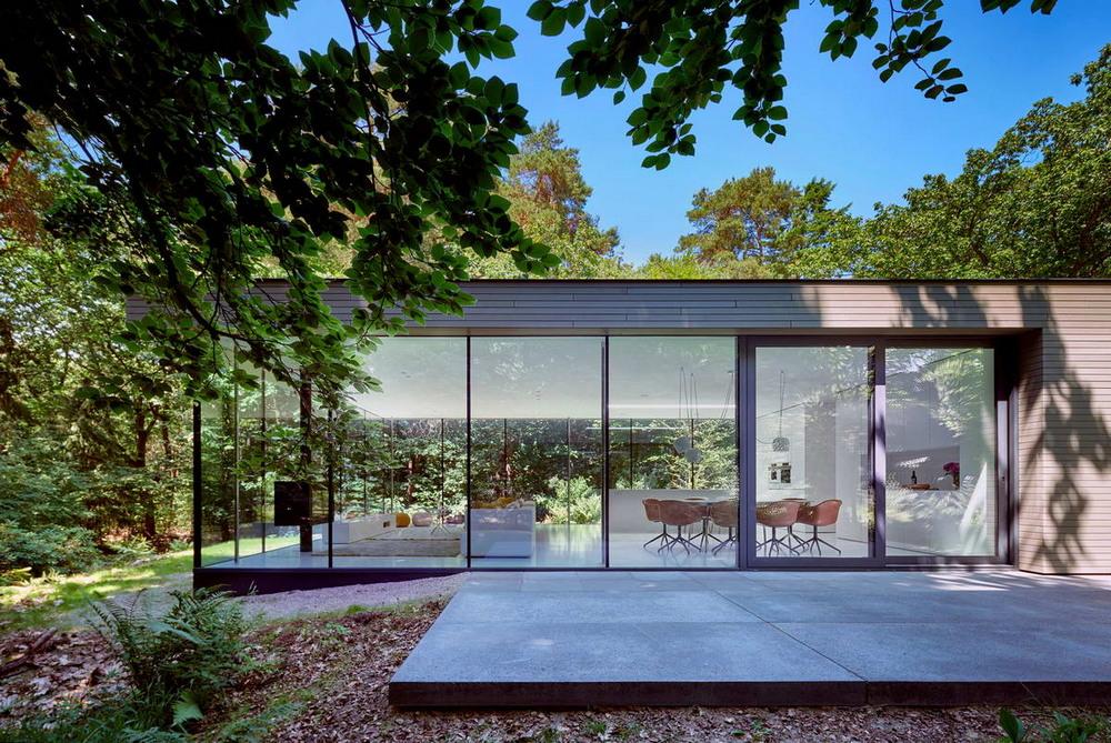 Переделка виллы 1967 года постройки в современный дом
