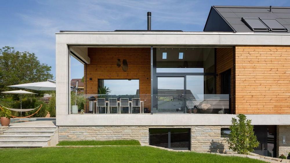 Простой жилой дом в швейцарской коммуне