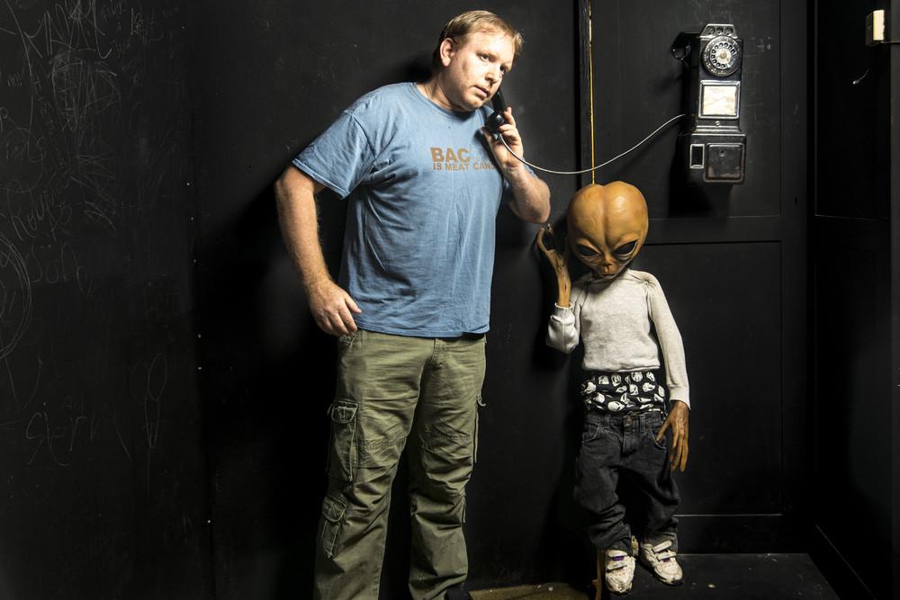 Ночь в музее с пришельцами