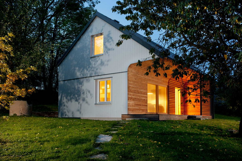 Деревянный домик для загородного отдыха в Чехии