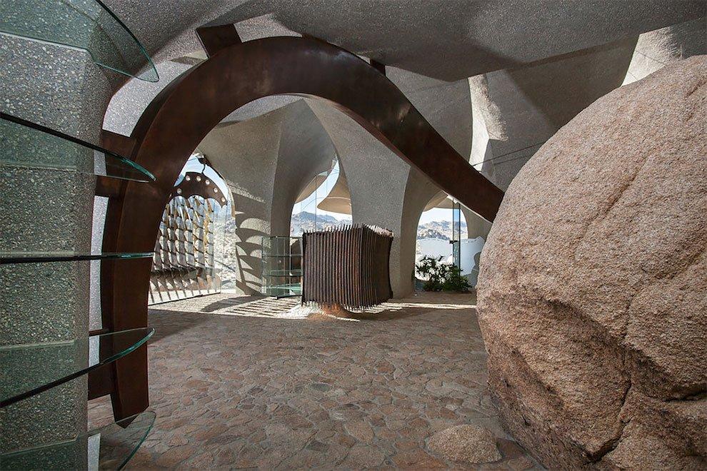 Дом в пустыне по проекту Кендрика Келлога