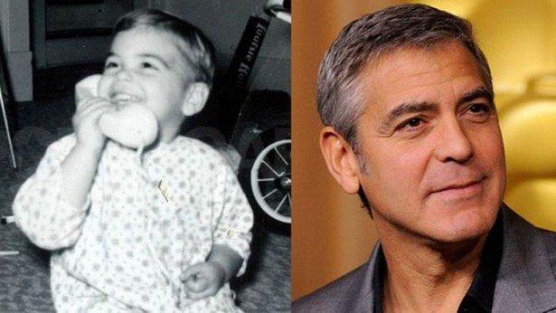 Детские фотографии знаменитых мужчин