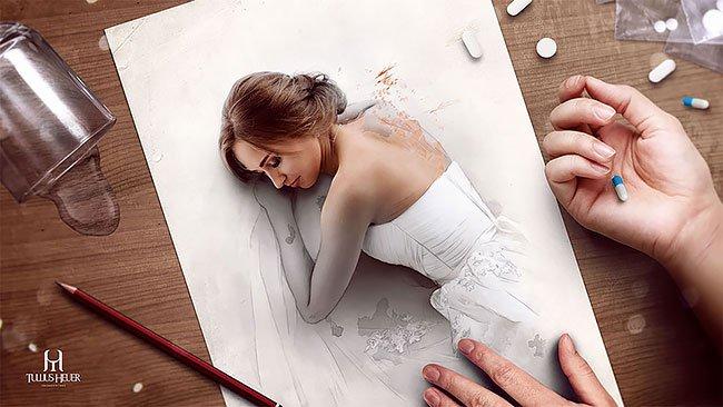 Оживающие иллюстрации от Туллиуса Хейера
