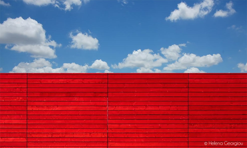 Яркие минималистичные фото от Хелены Георгиу