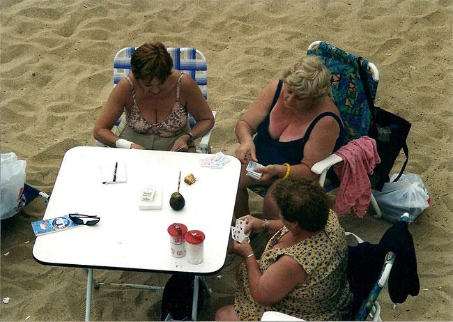 Пляжная жизнь Чили в 1980-е годы