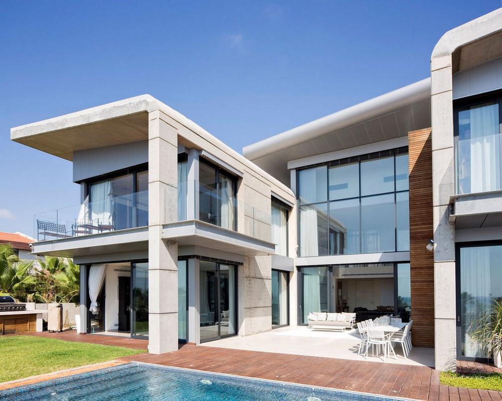 Современный семейный дом в Израиле